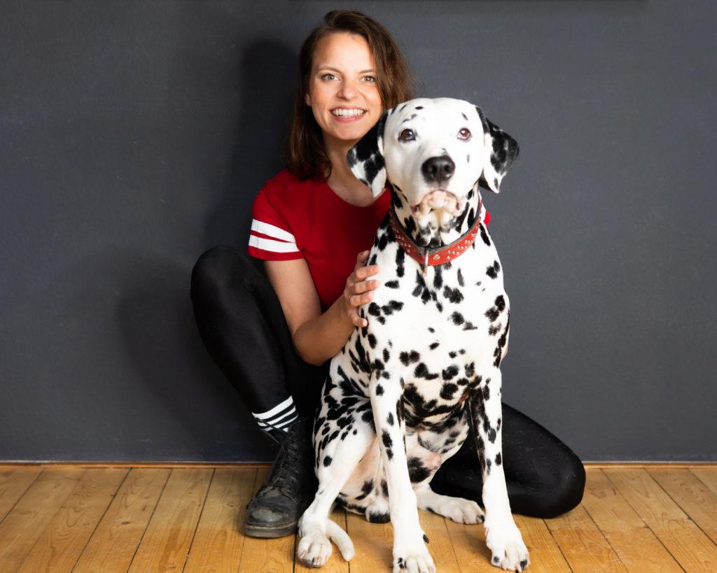 Mein Hund ist mein bester Freund! Franziska Benz mit Django